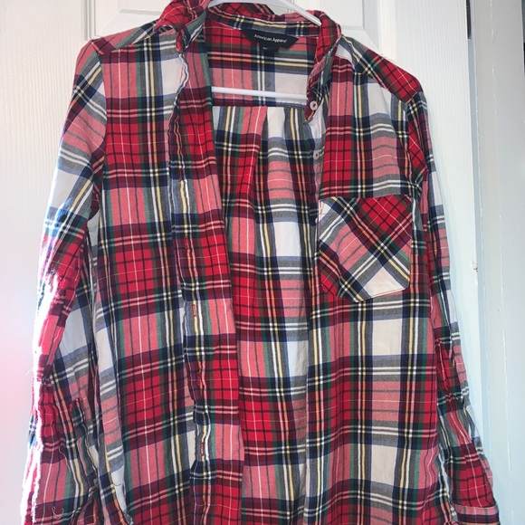 American Apparel flannel